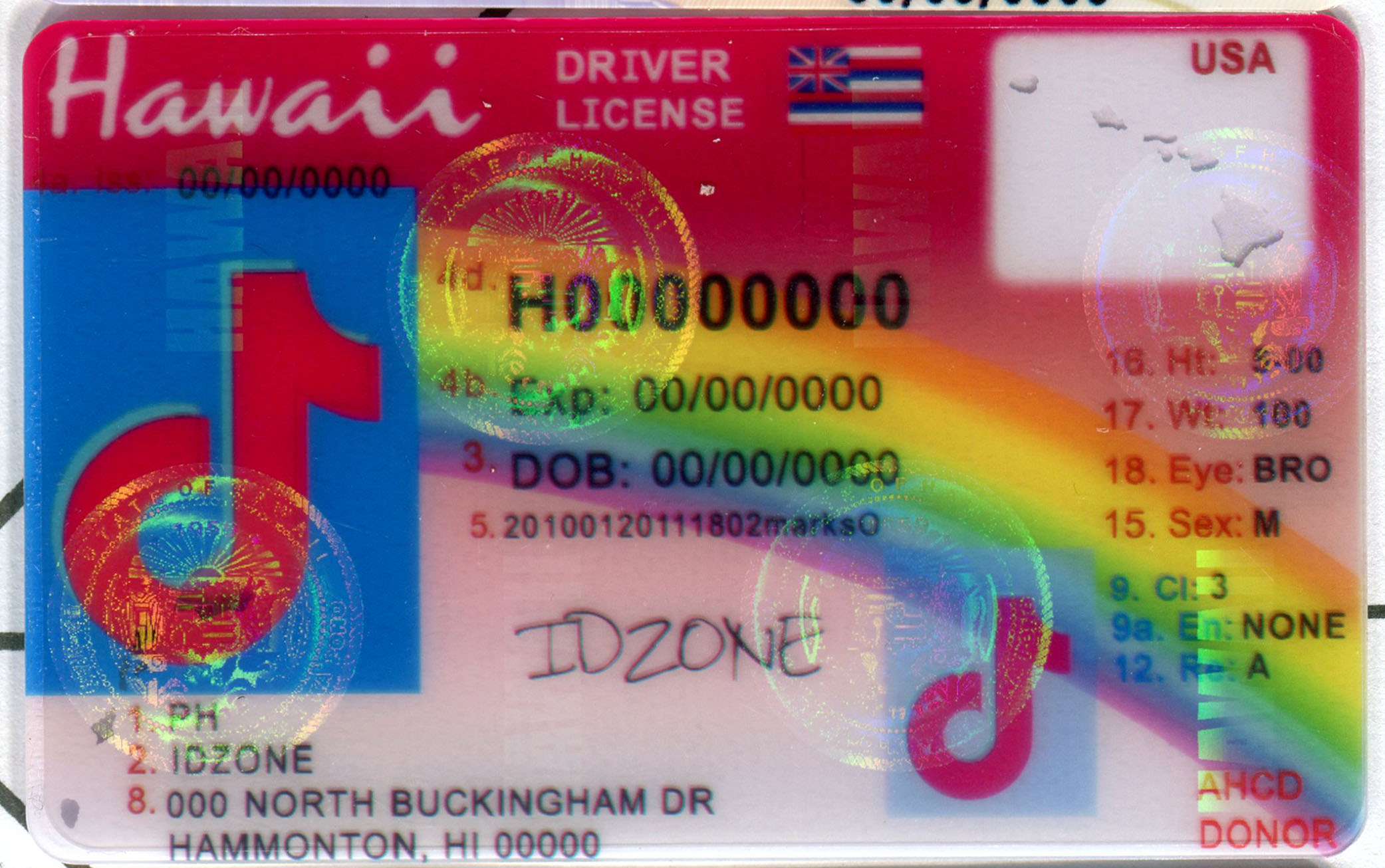 HAWAII-Old buy fake id