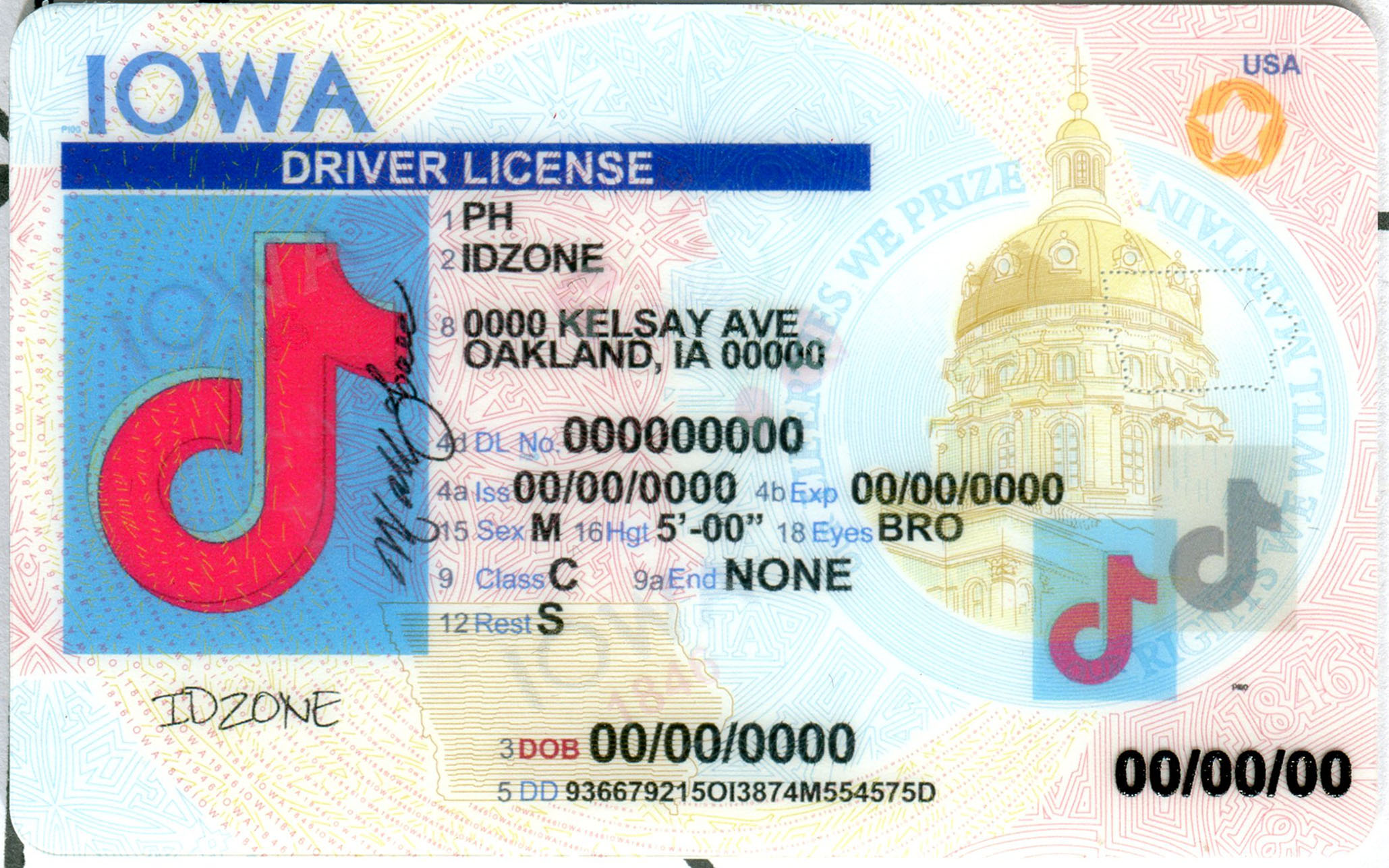 IOWA-New fake id