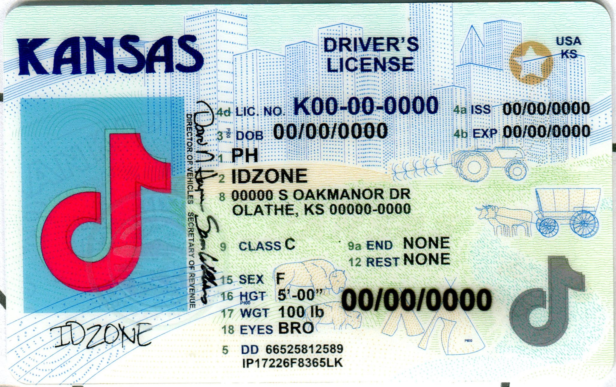 KANSAS-New buy fake id