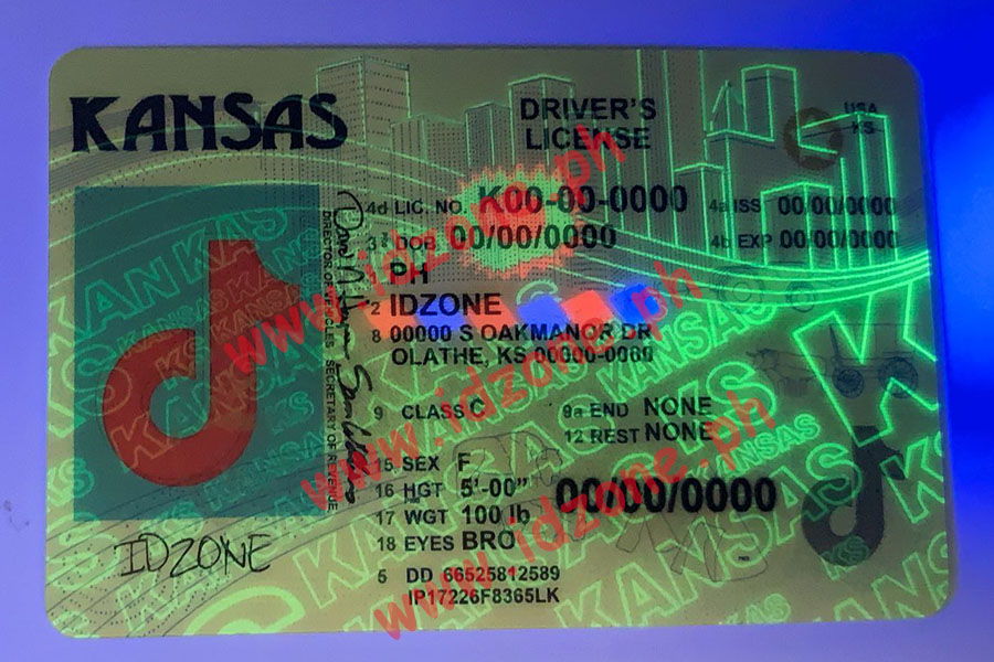 FAKE ID KANSAS fake id