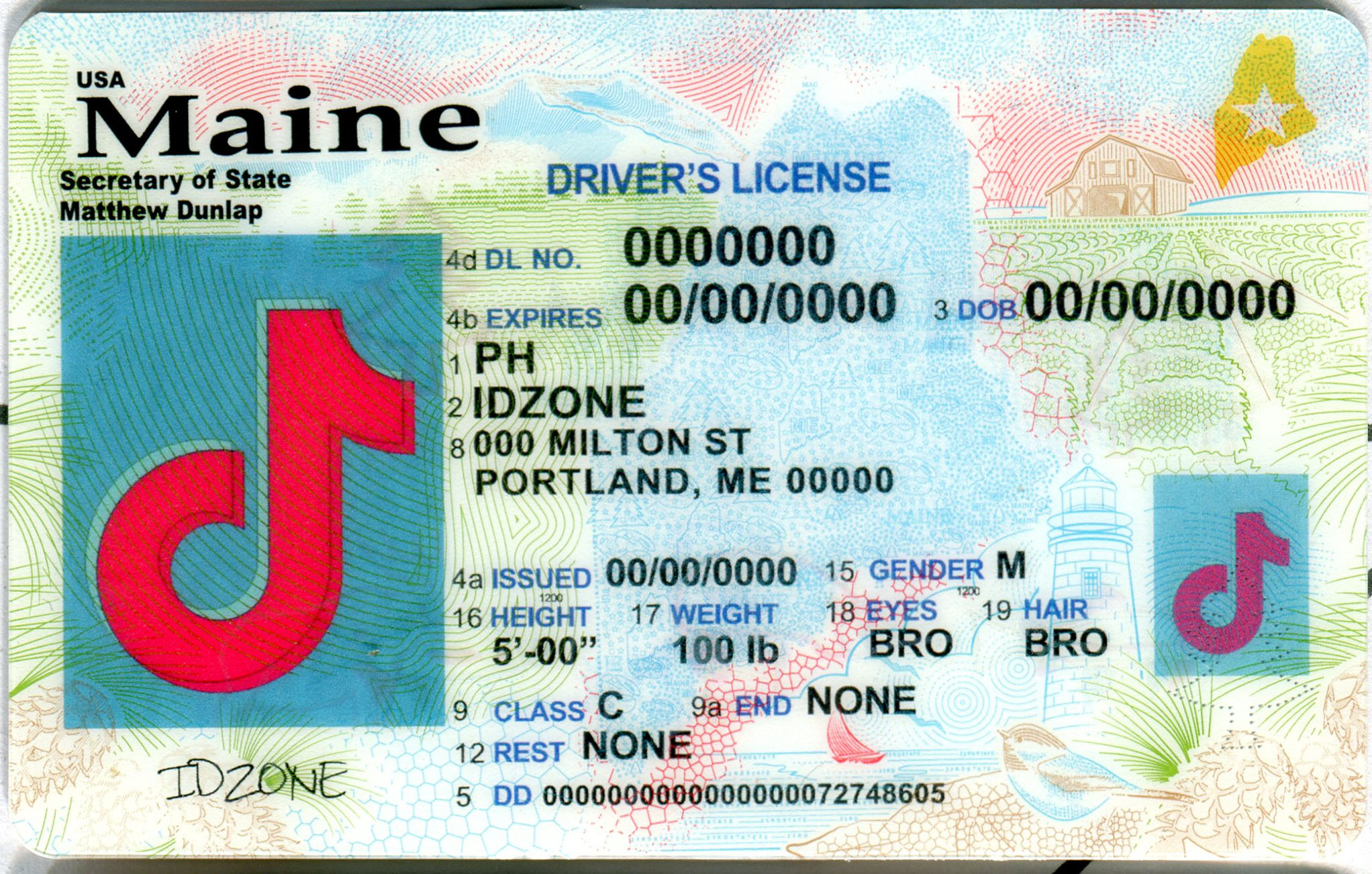 MAINE-New fake id