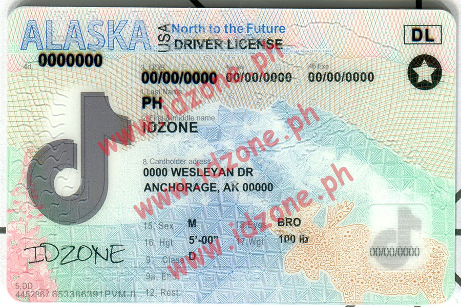 ALASKA-New Scannable fake id