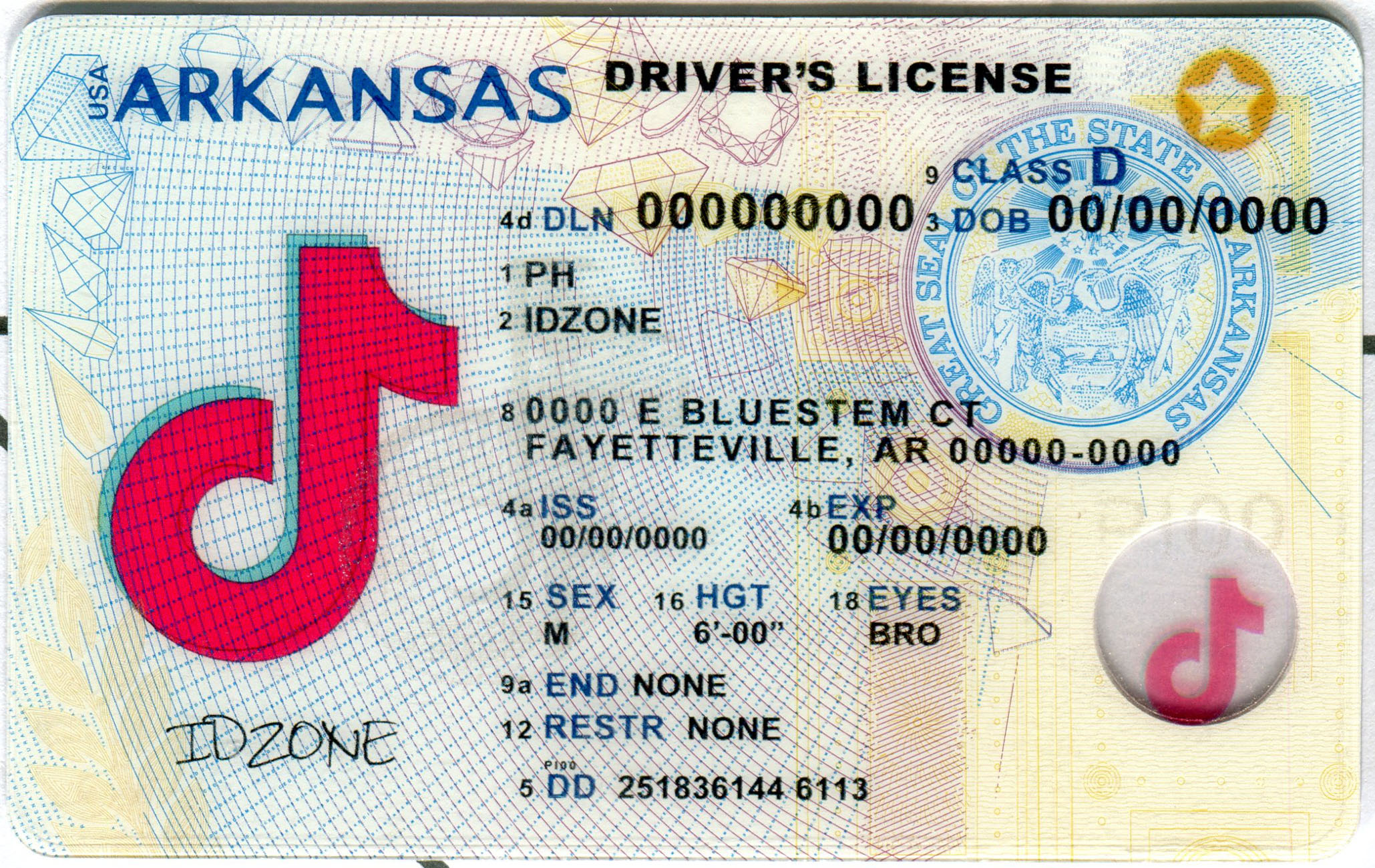 ARKANSAS-New Scannable fake id