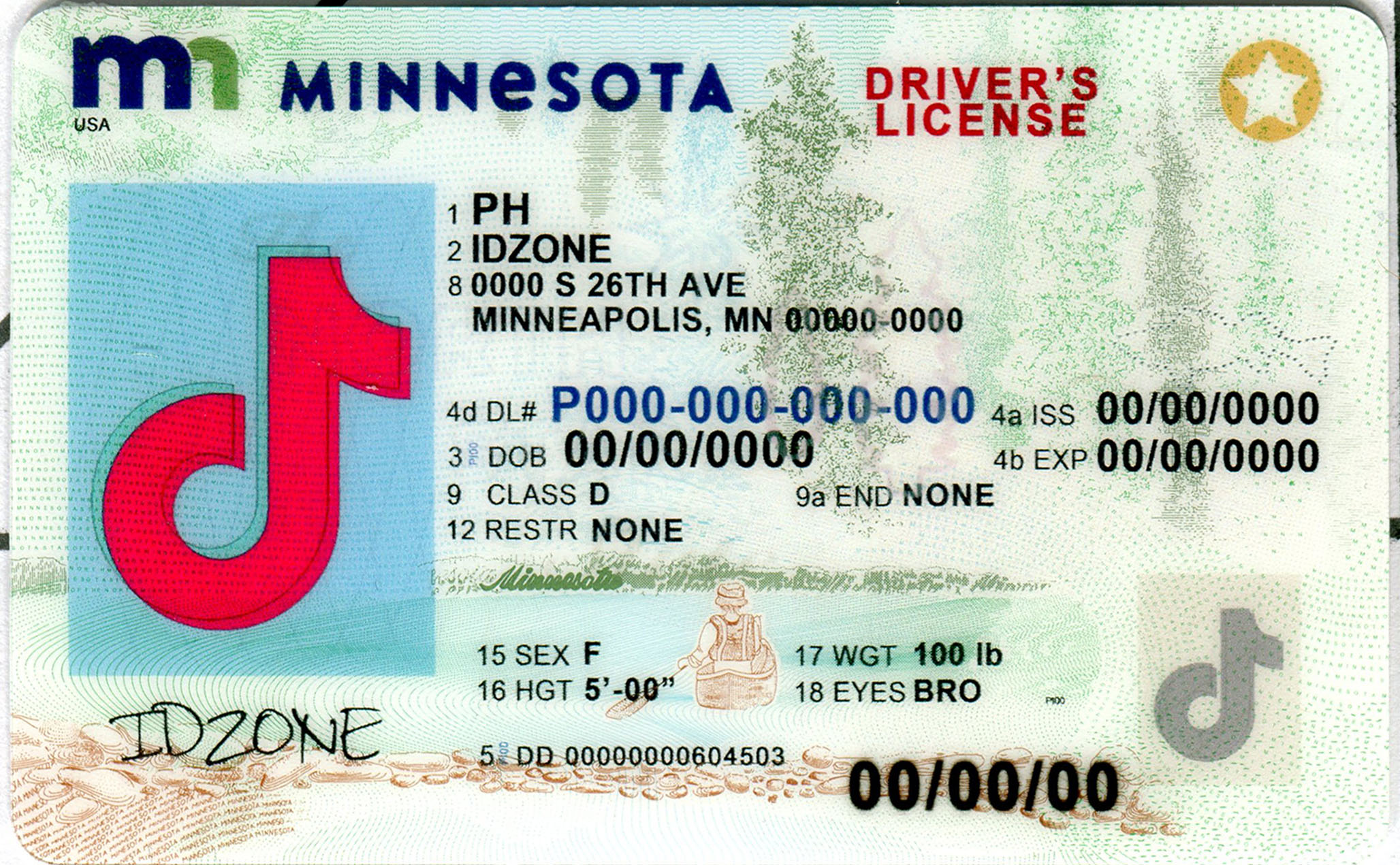 MINNESOTA-New Scannable fake id