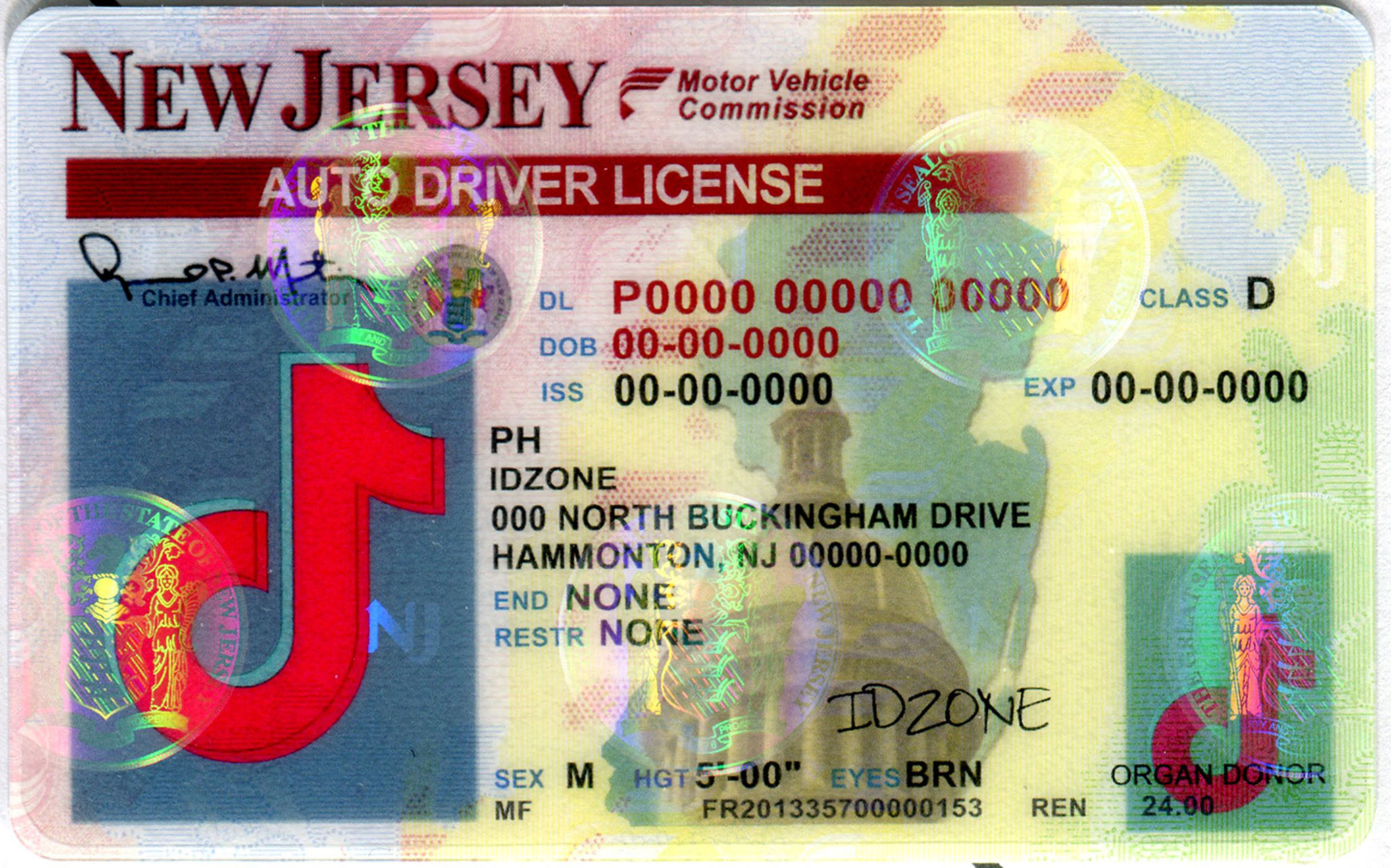 NEW JERSEY buy fake id