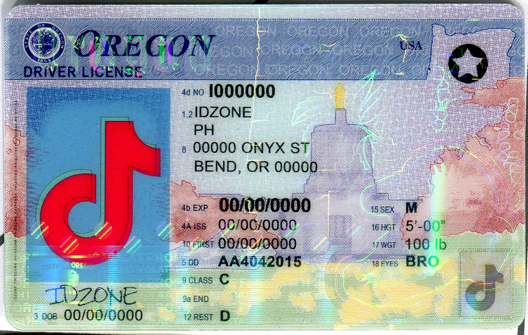 OREGON-New buy fake id