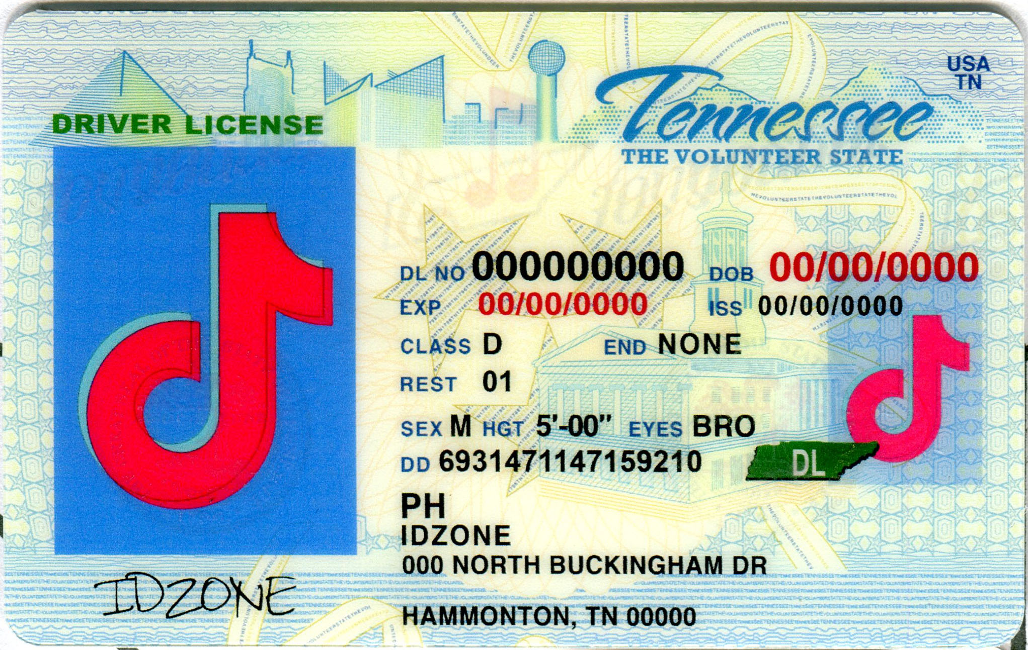 TENNESSEE buy fake id