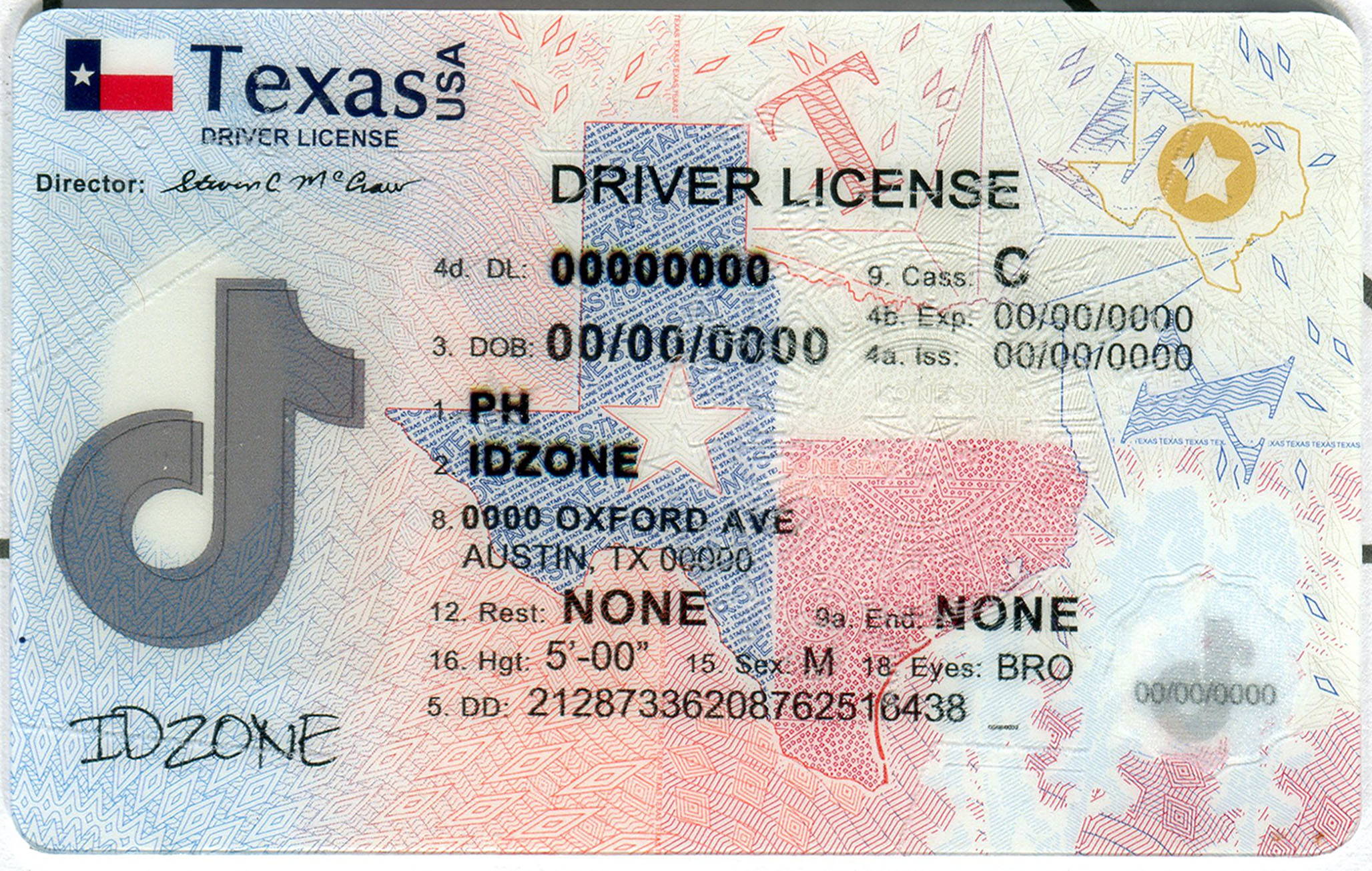 TEXAS-New fake id