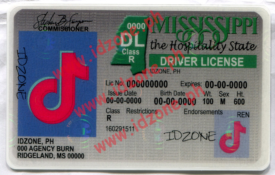 fake id Scannable fake id